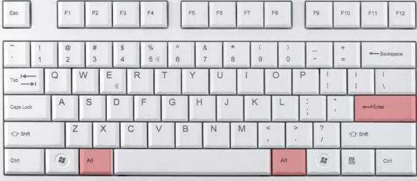 Alt+空格键打开窗菜单3