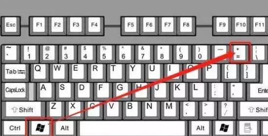 图片文字无限放大技巧的快捷键:Windows和++++++