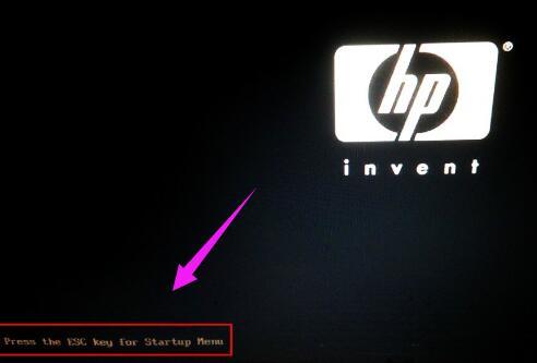 惠普电脑怎么进入bios设置界面
