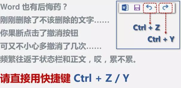 word中常用快捷键大全,让你工作效率提升一倍