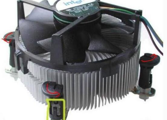清理CPU散热器