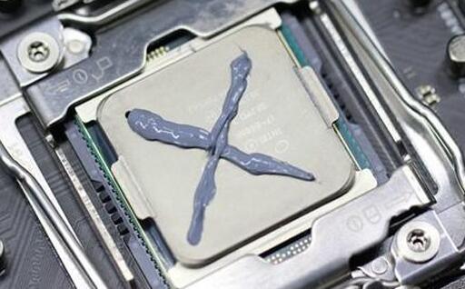 cpu涂抹硅脂的方法5X形