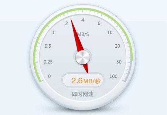 20m宽带下载速度2.5M,那么200m宽带下载速度多少正常呢?