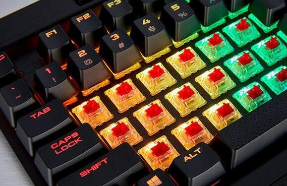 机械键盘和普通键盘的区别,主要是8个方面不同
