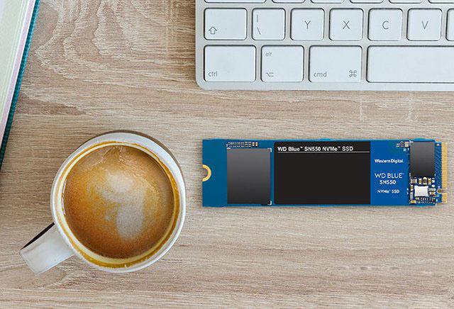 西部数据SN550 500GB NVMe协议M.2固态硬盘