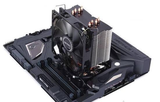 CPU塔式侧吹散热器安装方向