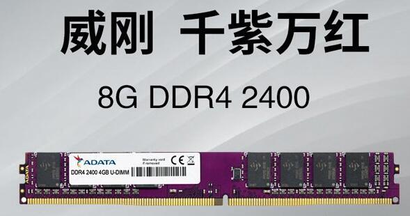 天涯明月刀电脑配置威刚 万紫千红 8G 2400 普条