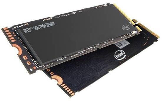 硬盘intel 760P 128G NVME ssd