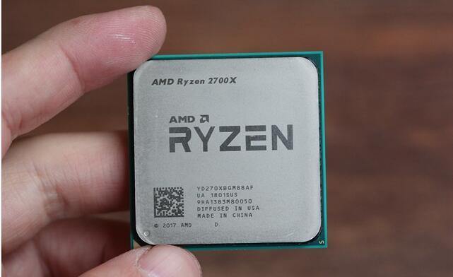 处理器:锐龙 AMD Ryzen 7 2700X