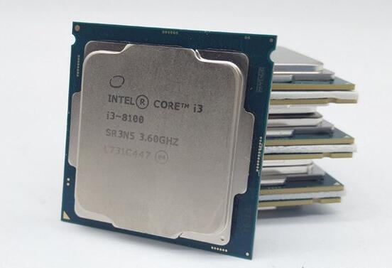 intel八代酷睿i3-8100