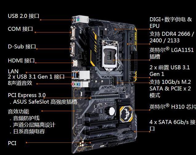 华硕H310-PLUS