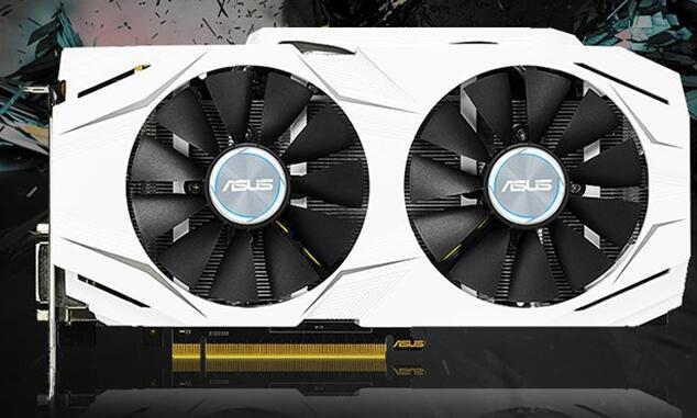 显卡型号是华硕DUAL-GeForce GTX1060-O6G雪豹系列显卡