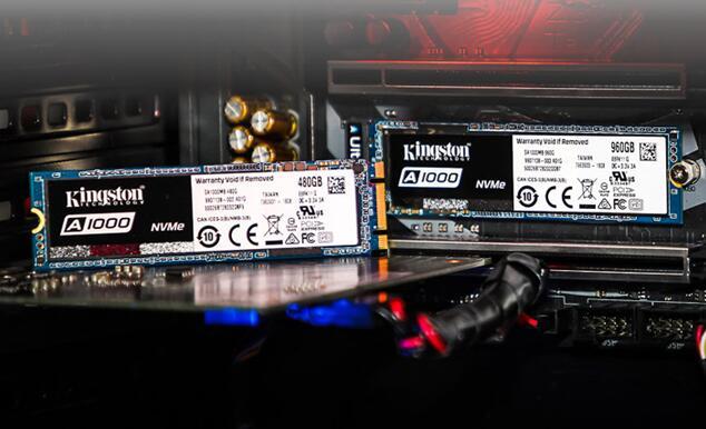 硬盘:金士顿A1000系列 240G M.2 NVMe