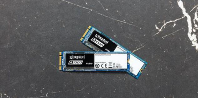 金士顿A1000系列SSD接口带宽为PCIe 3.0 x 2并支持NVMe规范