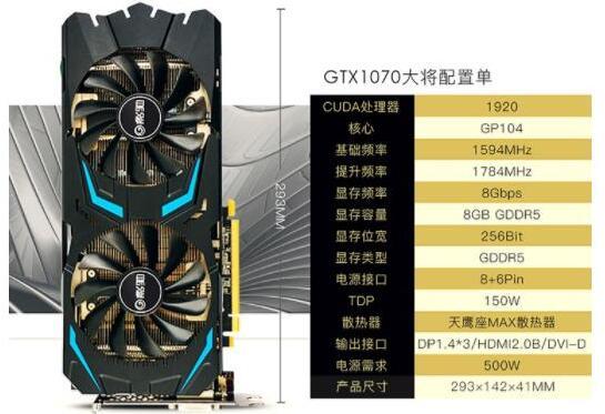 GTX1070显卡