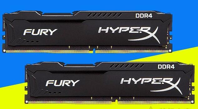 金士顿 骇客神条 Fury系列 DDR4 2400 8G 内存