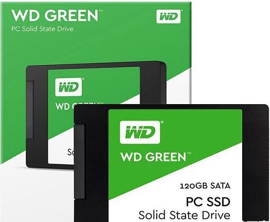 西部数据WDS120G1G0A 120GB固态硬盘