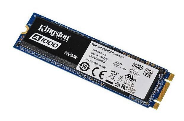 金士顿 A1000 240G M.2 NVME固态硬盘