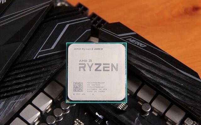 AMD二代锐龙R5 2600X处理器