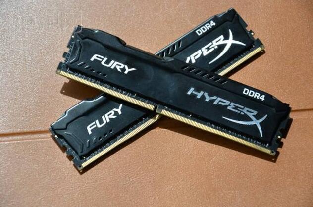 金士顿骇客神条Fury系列 DDR4 2666 8G