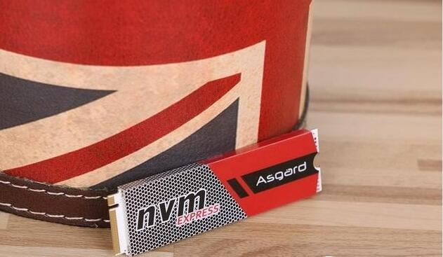 阿斯加特256G M.2 NVMe固态 + 西部数据 WD10EZEX 1T蓝盘