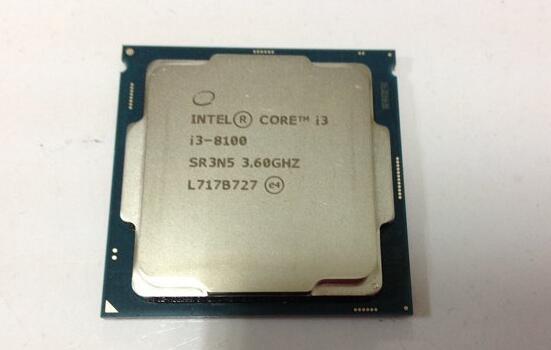 intel酷睿i3-8100处理器