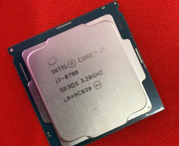 intel酷睿i7-8700处理器