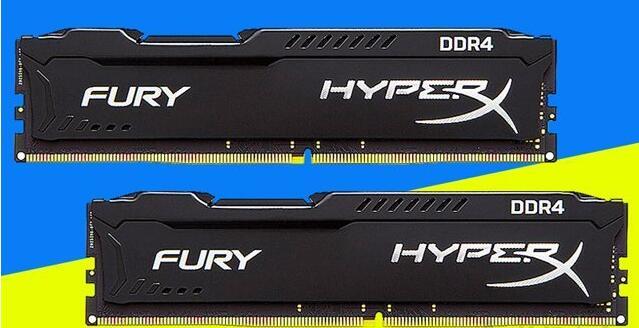 2根金士顿 骇客神条 Fury系列 DDR4 2400 8G 内存