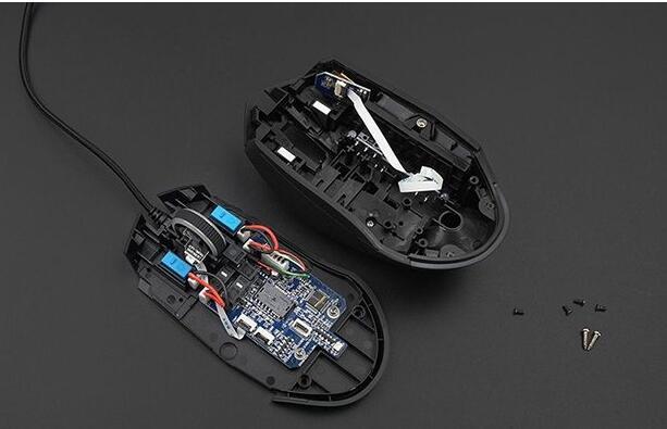 二、鼠标PCB板