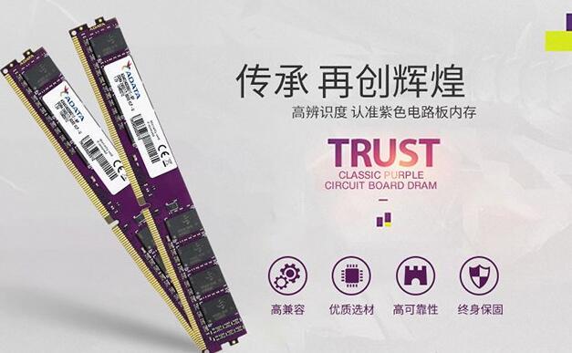 威刚万紫千红4G DDR4 2666内存*2根(8G)