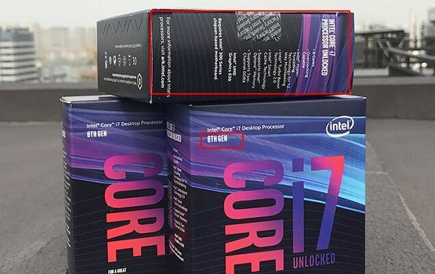 英文盒装CPU