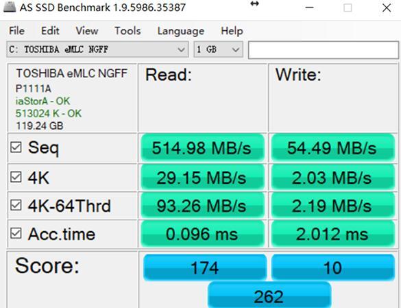固态硬盘读取速度正常写入速度慢的解决方法