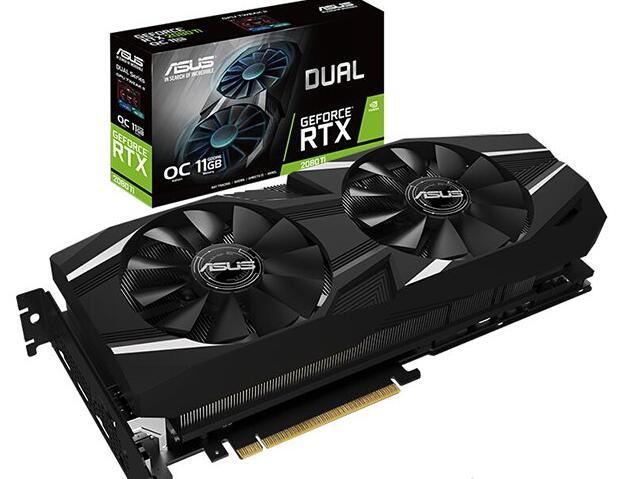 华硕 DUAL-GeForce RTX 2080 TI-O11G显卡