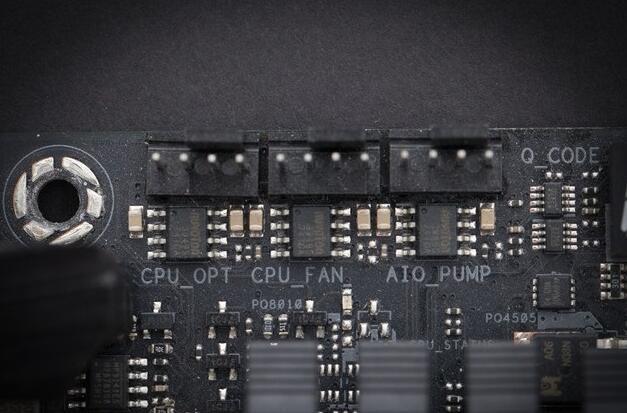台式机电脑跳线接法图解2散热供电接针