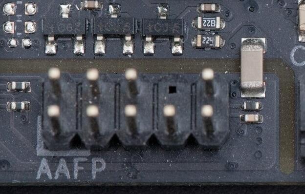 台式机电脑跳线接法图解4音频接针