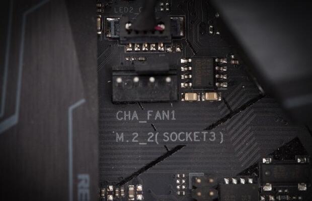台式机电脑跳线接法图解5机箱风扇接针