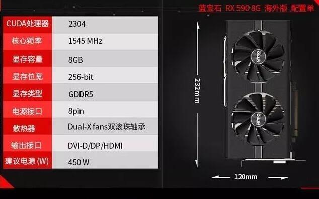 AMD Ryzen 5 2600配RX590六核独显电脑配置清单