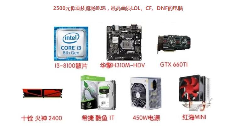 intel畅玩LOL/CF/DNF的日常家用电脑配置清单