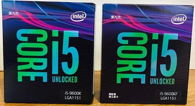 i5-9600k和9600kf哪个超频好 性能差距大吗