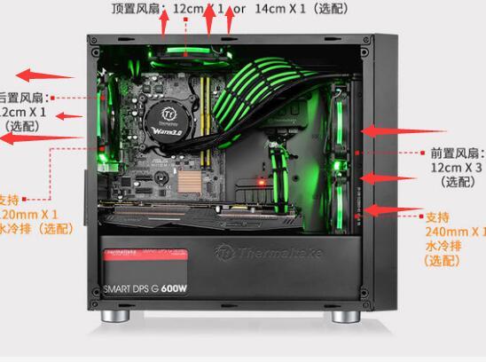 超频3风扇安装图解_机箱风扇安装方向图解 电脑机箱散热风扇怎么安装 - 123电脑配置网