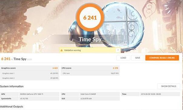 3D MARK两项DX12 Time spy性能测试