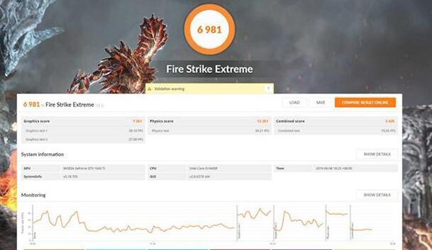 DX11 Fire Strike性能测试