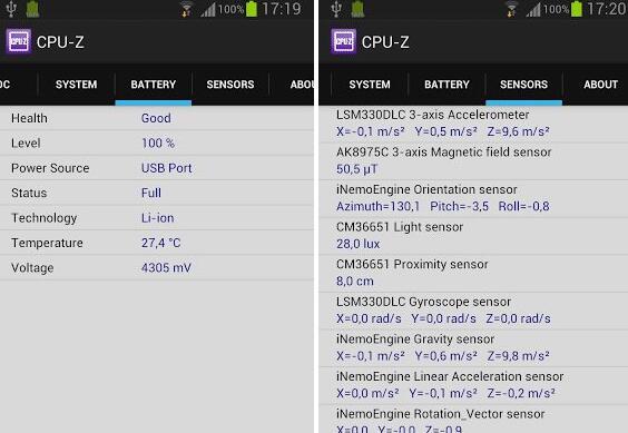 cpuz安卓V1.29最新去广告汉化版