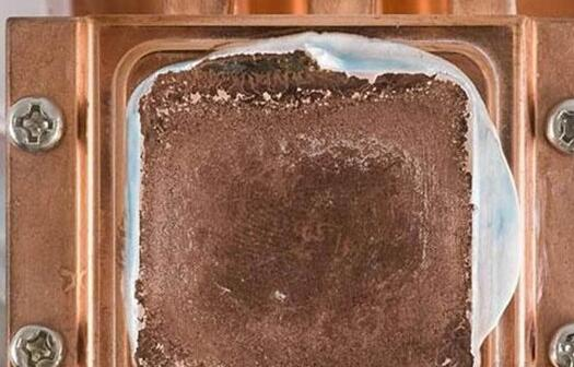cpu散热器底座腐蚀现象