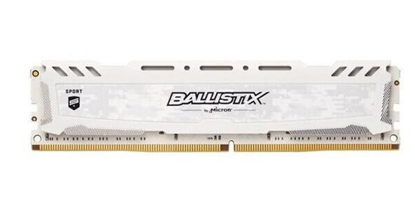 英睿达镁光 DDR4 8G 2666内存白色*2根
