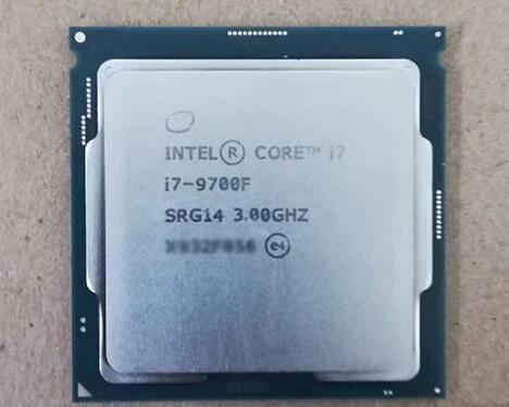 intel酷睿i7-9700F处理器(散片)